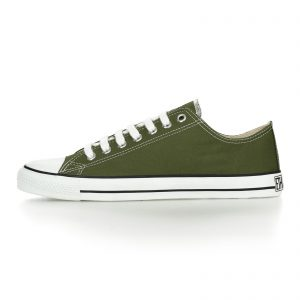 FAIR TRAINER WHITE CAP LoCut CLASSIC CAMPING GREEN JUST WHITE