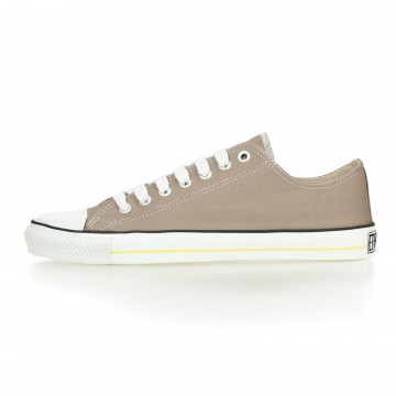 FAIR TRAINER WHITE CAP LoCut COLLECTION MOON ROCK GREY  JUST WHITE – OUTLET