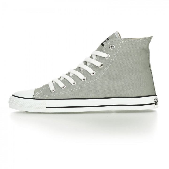 FAIR TRAINER WHITE CAP HiCut CLASSIC URBAN GREY JUST WHITE