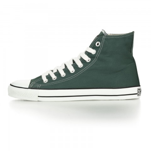 FAIR TRAINER WHITE CAP HiCut CLASSIC RESEDA GREEN JUST WHITE