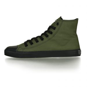 FAIR TRAINER BLACK CAP HiCut CLASSIC CAMPING GREEN JET BLACK