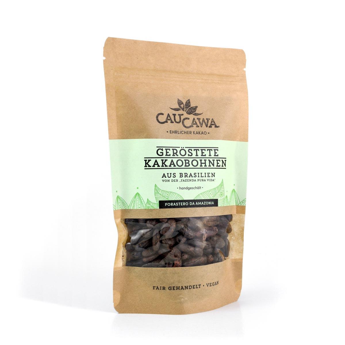 Kakaobohnen aus Brasilien – handgeschält