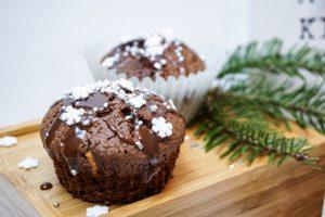Fluffige Zimt Cupcakes mit Kakao