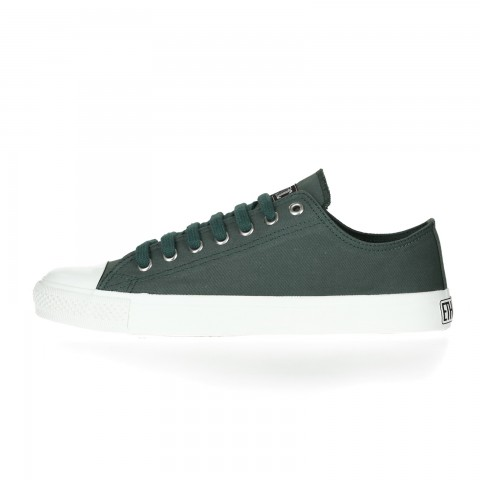 FAIR TRAINER WHITE CAP LoCut COLLECTION 17 RESEDA GREEN| JUST WHITE – OUTLET