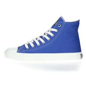 FAIR TRAINER WHITE CAP HiCut COLLECTION 17 GLOW BLUE JUST WHITE