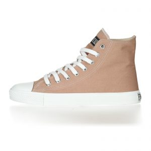 FAIR TRAINER WHITE CAP HiCut COLLECTION 17 LIGHT CLAY JUST WHITE