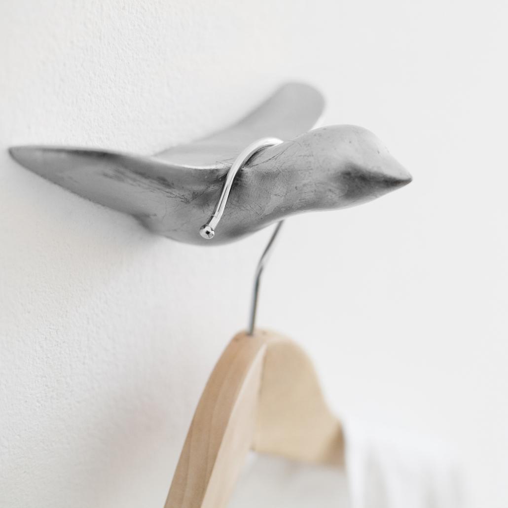 Beton Wandhaken – silber