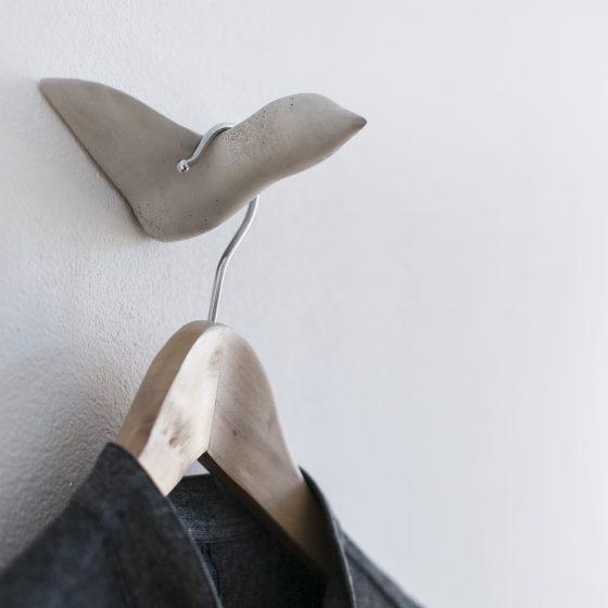 Beton Wandhaken - grau