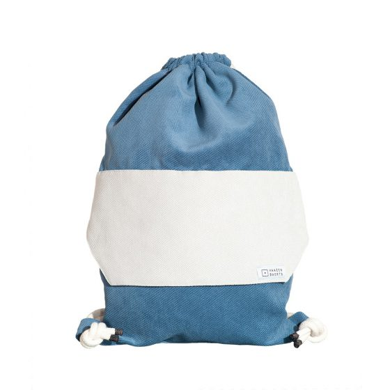 RONDO Gym Bag Kiesel