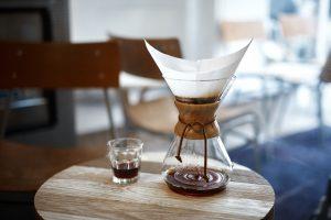 Nachhaltiger Kaffee und Green Lifestyle Kaffeemaschine