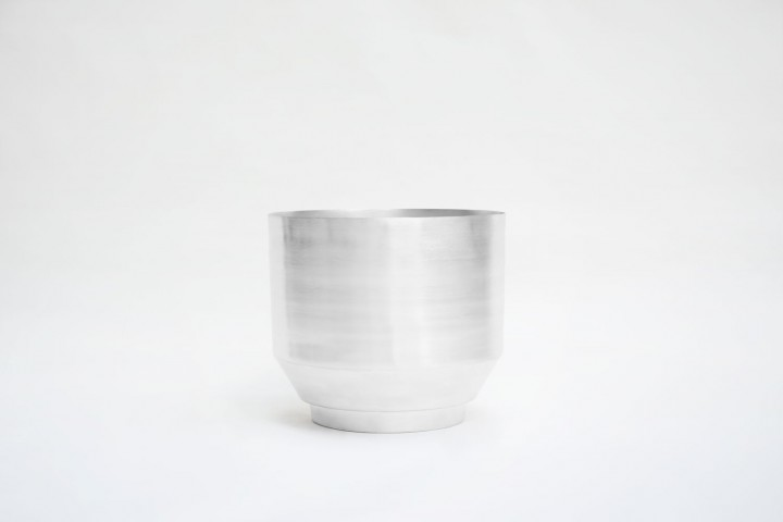 Blumentopf - Aluminium 40cm