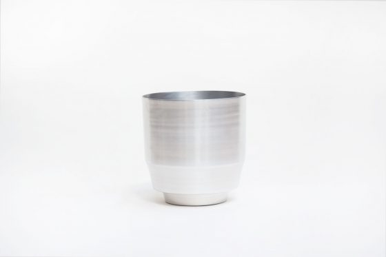 Blumentopf - Aluminium 20cm