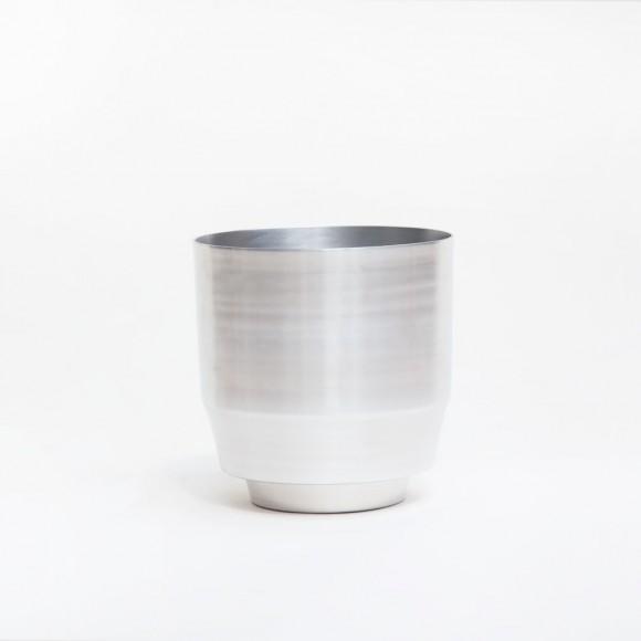 Blumentopf – Aluminium 20cm