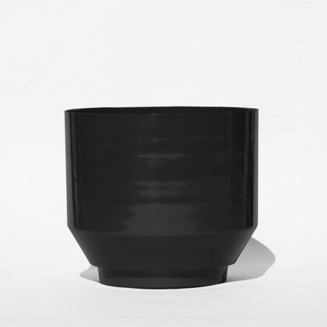 Blumentopf Outdoor – Schwarz 40cm