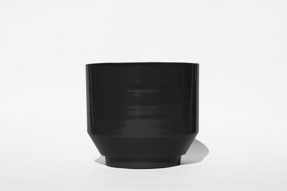 Blumentopf Outdoor - Schwarz 40cm