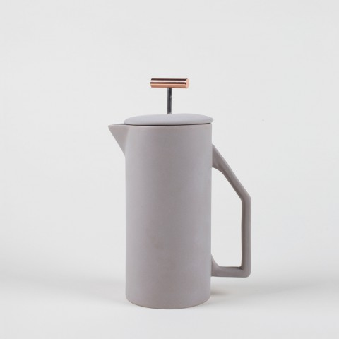 French Press – Ceramic Grau – 850ml