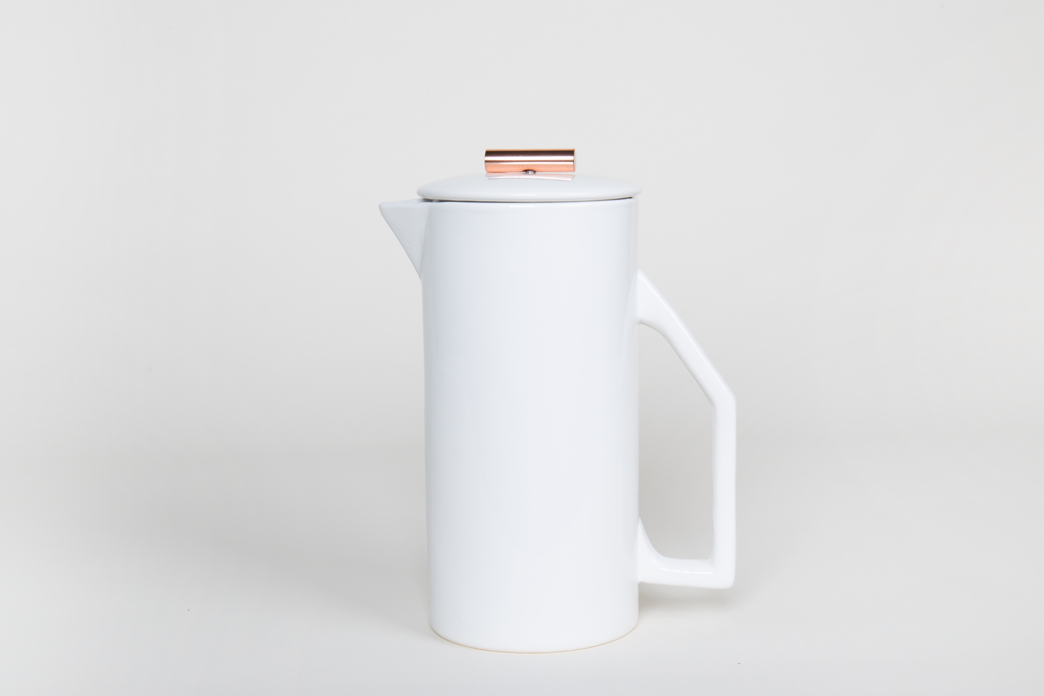 French Press – Ceramic Weiss – 850ml