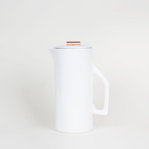 French Press – Ceramic Weiss – 1,5l