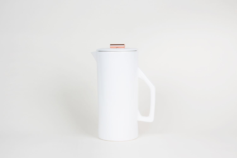 French Press – Ceramic Weiss – 1,5l