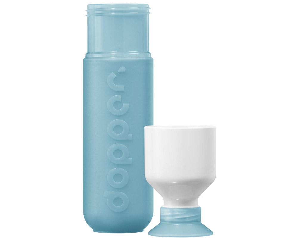 dopper trinkflasche lagoon blue ermellino. Black Bedroom Furniture Sets. Home Design Ideas