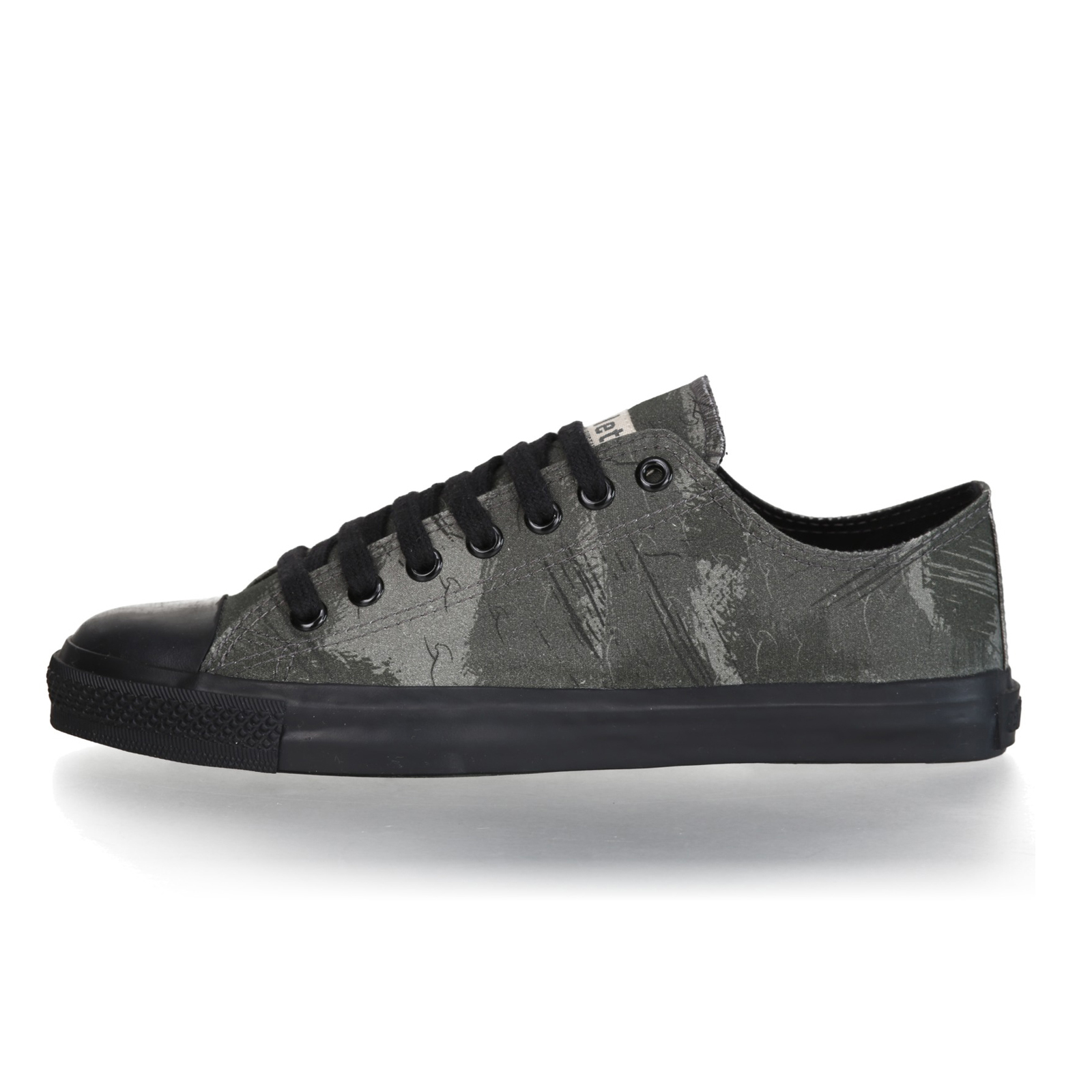 FAIR TRAINER BLACK LoCut 18 | Dove Camo Olive