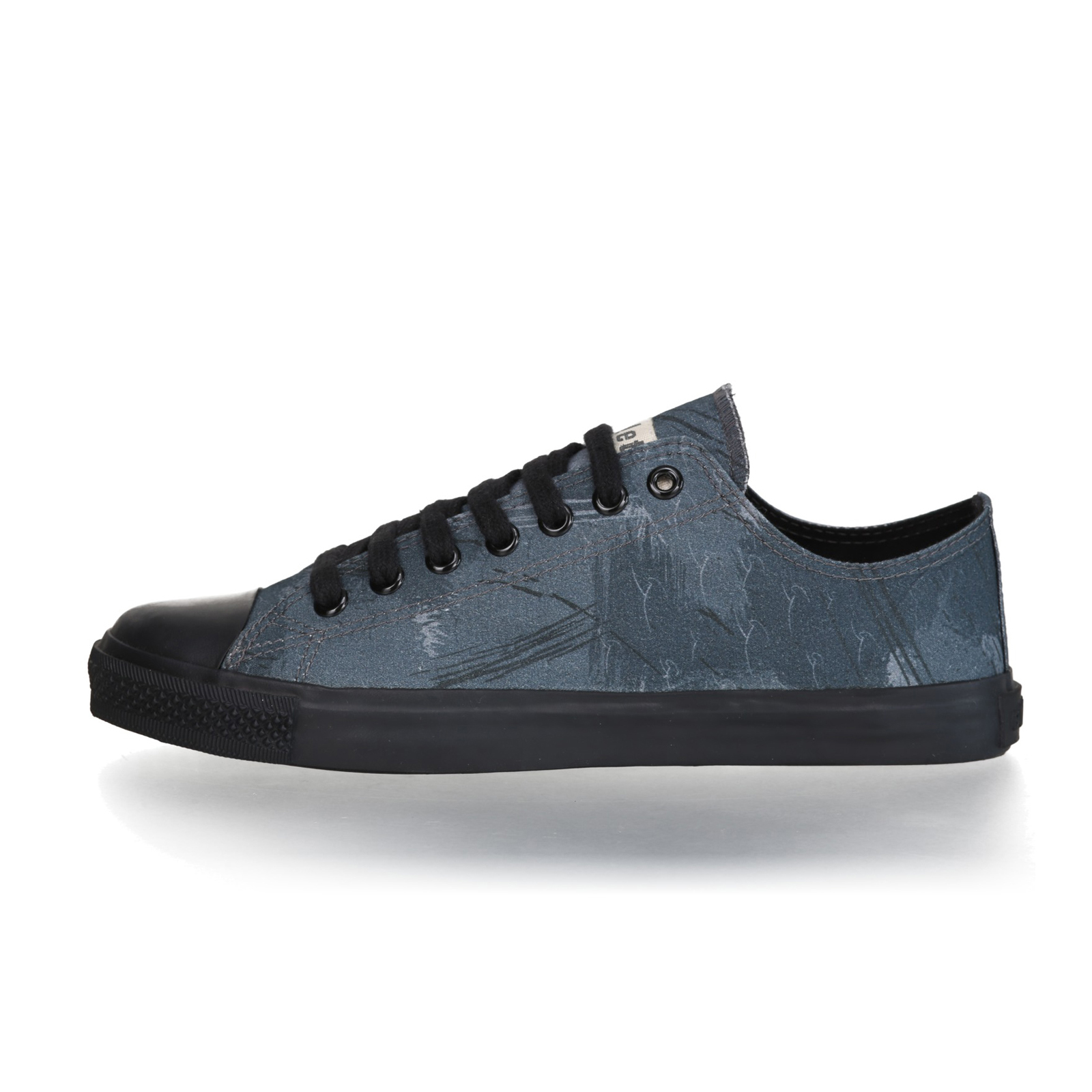FAIR TRAINER BLACK LoCut 18 | Dove Camo Indigo