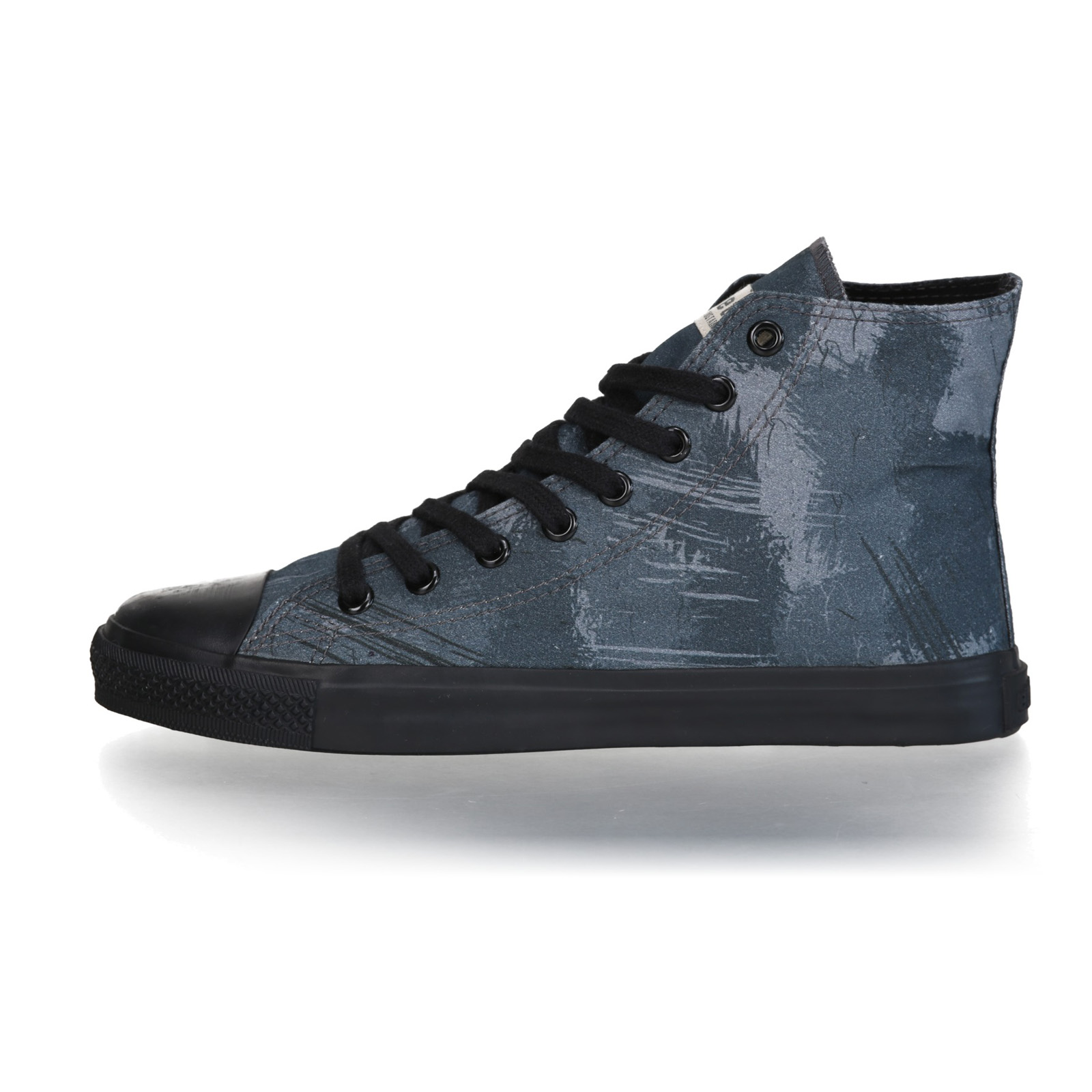 FAIR TRAINER BLACK HiCut 18 | Dove Camo Indigo