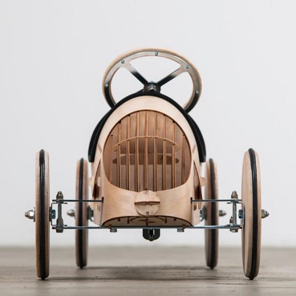 Holzrutschauto BAUSATZ