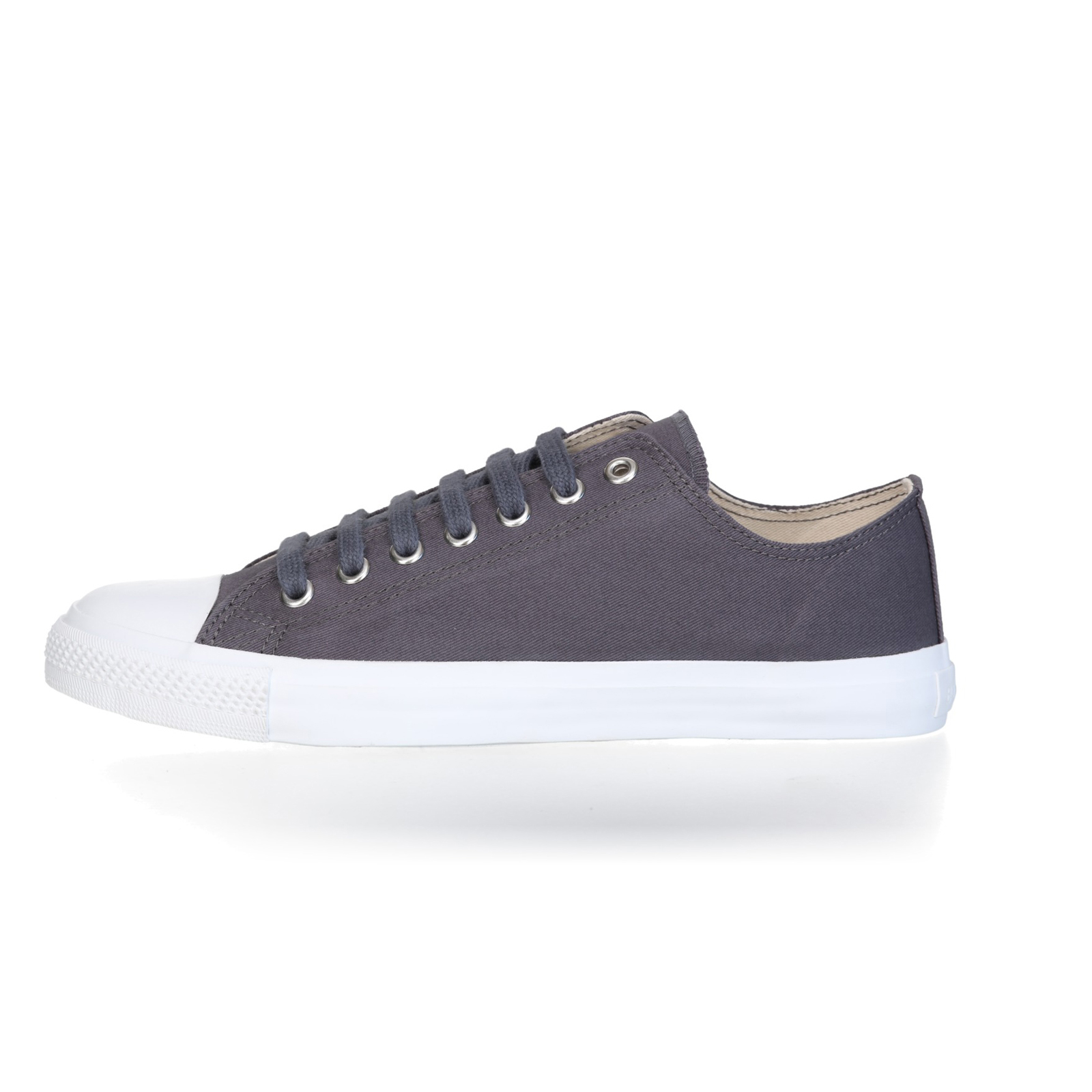 FAIR TRAINER White LoCut 18 | Pewter Grey
