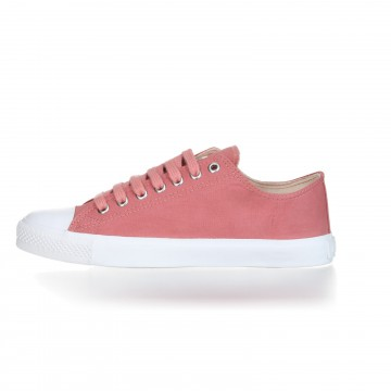 FAIR TRAINER White LoCut 18 | Rose Dust – OUTLET