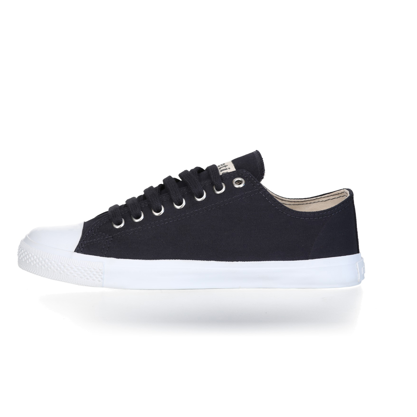 FAIR TRAINER White LoCut 18 | Black Navy