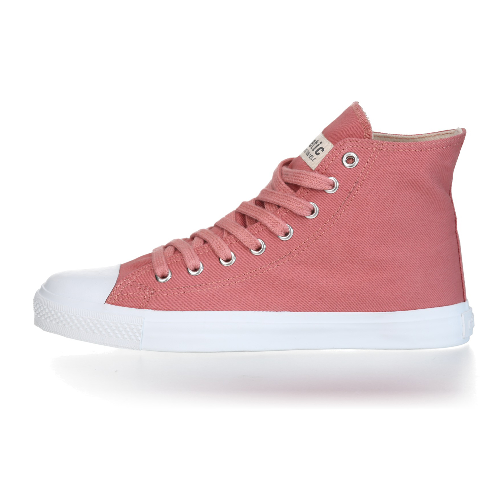 FAIR TRAINER White HiCut 18 | Rose Dust