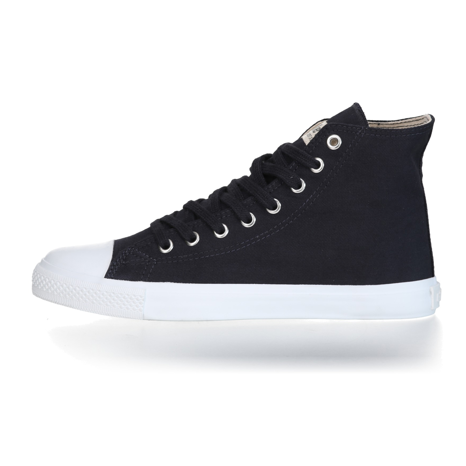 FAIR TRAINER White HiCut 18 | Black Navy