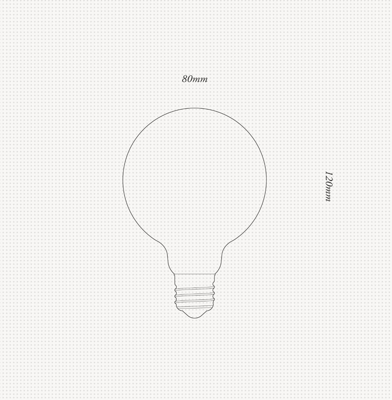 PORCELAIN 2 | LED GLÜHBIRNE
