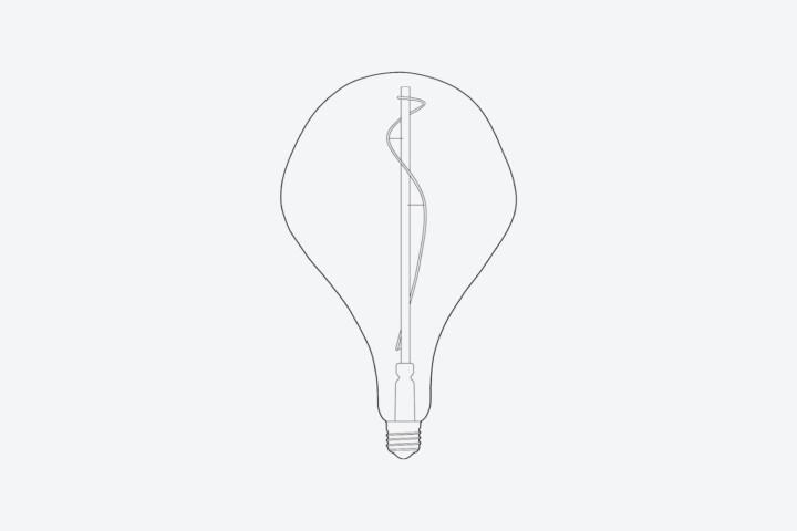 VORONOI II | LED GLÜHBIRNE