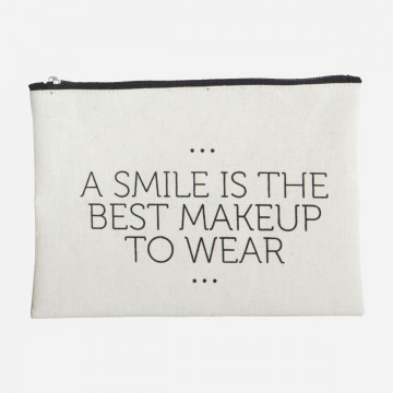 MAKE UP BAG SMILE