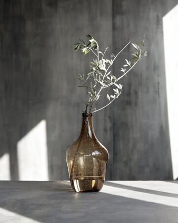 Vase Rec Braun
